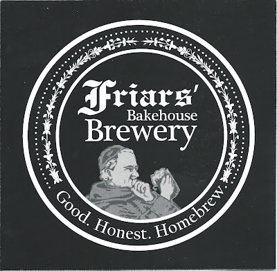 Friars' Bakehouse Brewery Label, Bangor, Maine
