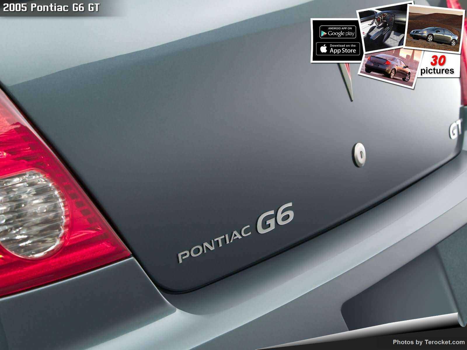 Hình ảnh xe ô tô Pontiac G6 GT 2005 & nội ngoại thất