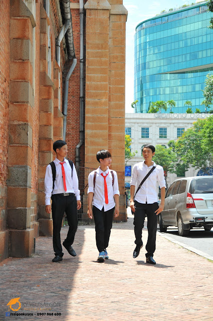 Ảnh kỷ yếu đẹp - Đại học Sài Gòn