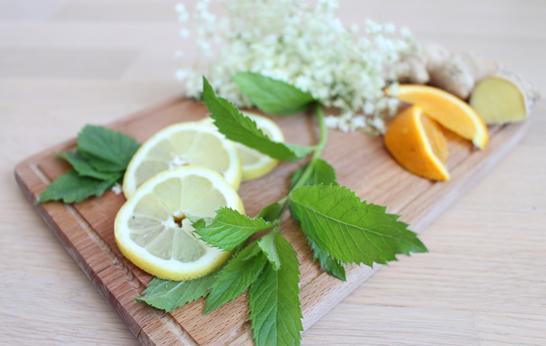 Gesichtspunkte – Selbst gemachte Holunderblüten-Limonade
