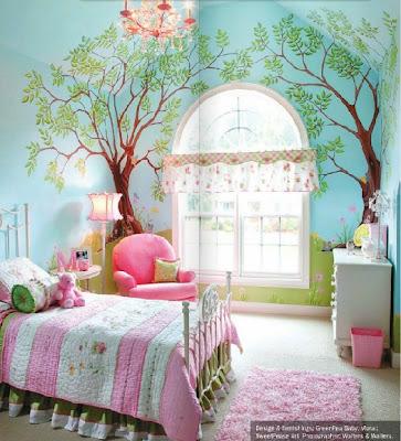 Infantiles recamaras para bebes dormitorios rosa tattoo for Decoracion de cuartos infantiles