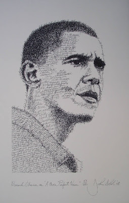 Portraits of Authors Made Using Their Own Words Seen On www.coolpicturegallery.us