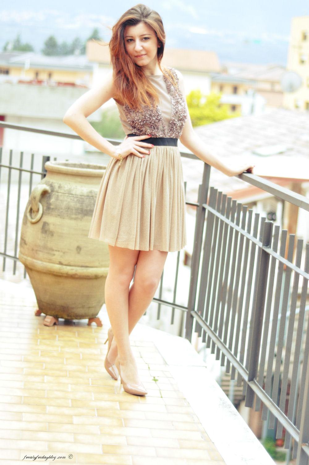 55283e842f5cf Vestiti eleganti  La Kore - Freaky Friday Fashion Blogger Sabrina Musco