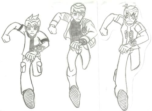 Dibujos de Ben 10 Omniverse para Pintar y Colorear no ...