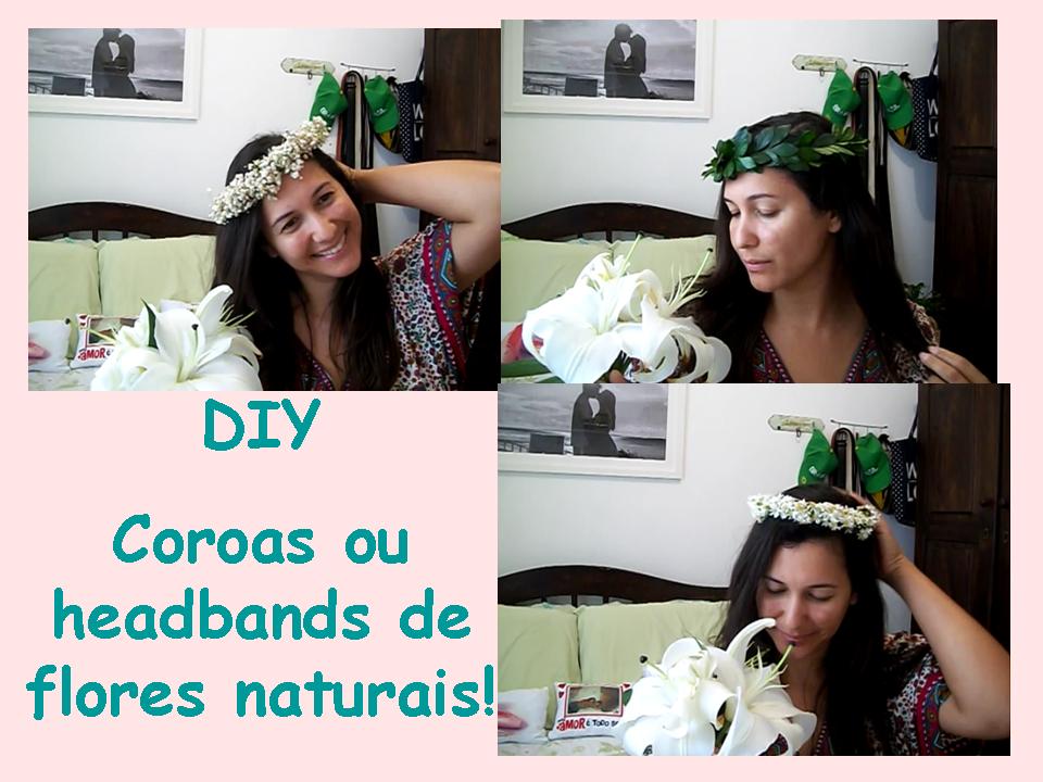 como fazer coroa de flores para casamento
