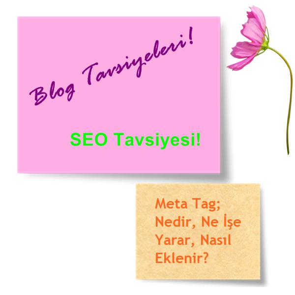 Blog Tavsiyeleri: SEO Destekli Meta Tag Kodlar; Nedir? Nasıl Eklenir? Ne İşe Yarar?