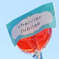 Cherries Jubilee Lollipops