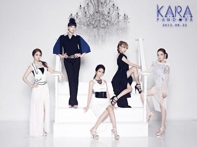 KARA members Pandora