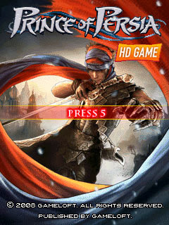Prince of Persia HD S60v2 Nokia N70 Cell Phone Game