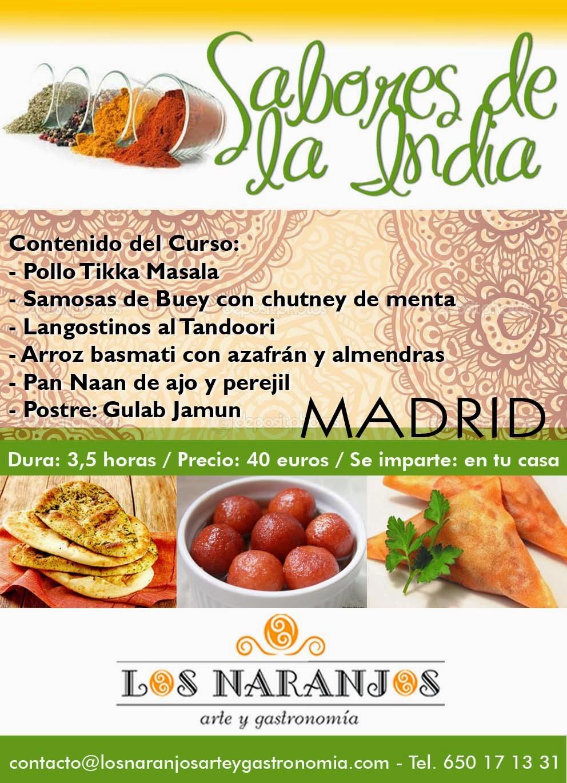 Los naranjos arte y gastronom a curso de cocina de la - Los mejores cursos de cocina en madrid ...