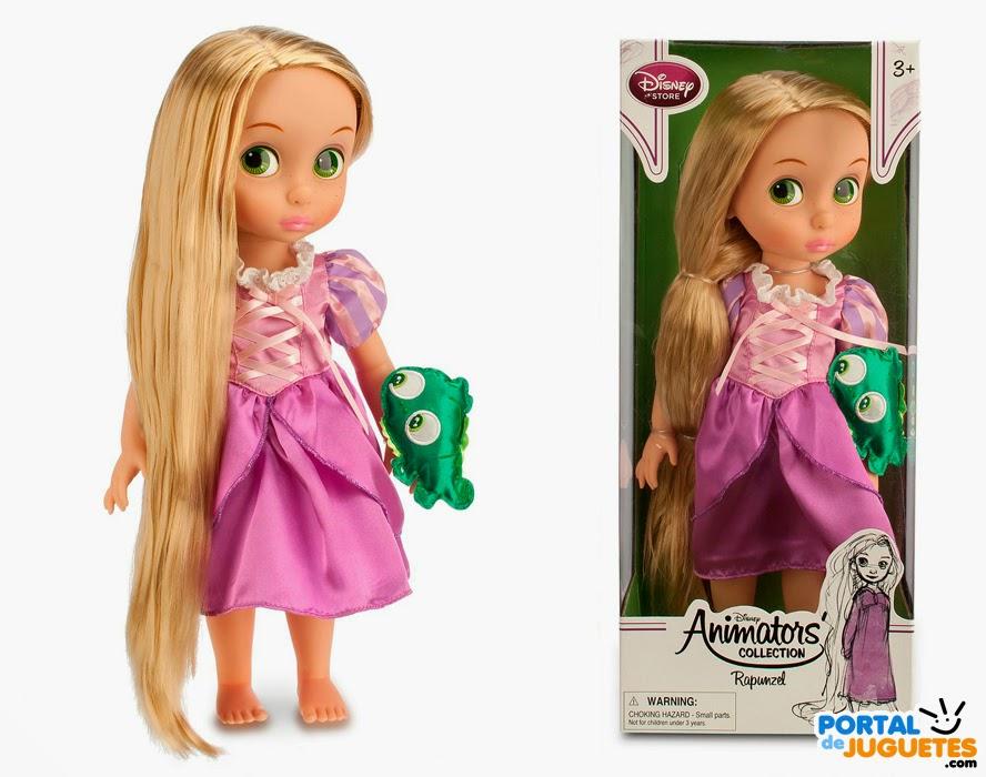 muñeca rapunzel coleccion disney animators tercera edicion