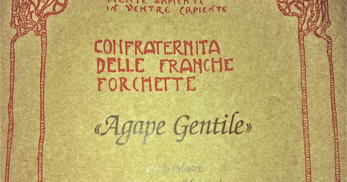 Confraternita delle franche forchette agape gentile - Reno immobiliare sasso marconi bo ...