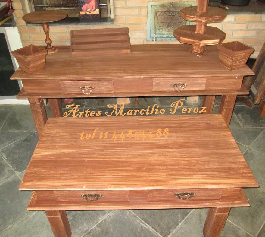 Promoção Conjunto mesa Graciosa rustica R$ 900,00 somente a grande R$ 600,00 e a Media R$ 400,00