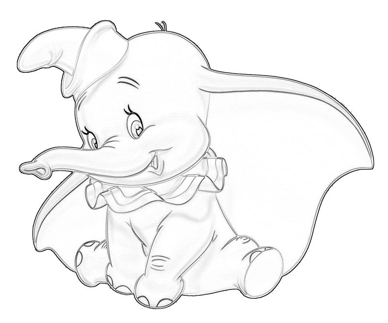 Dumbo Dumbo Happy Jozztweet Dumbo Coloring Pages