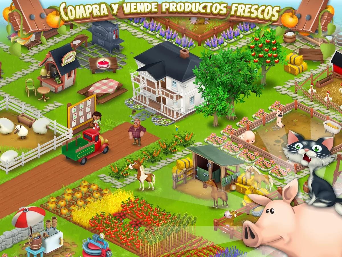 Conviertete en granjero con Hay Day