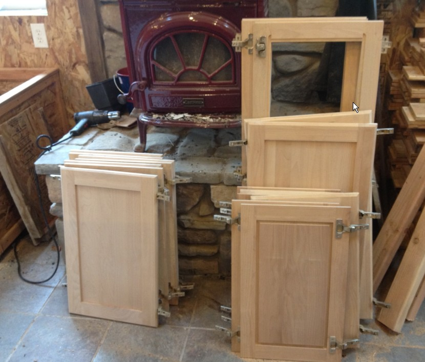Slab Kitchen Cabinet Doors