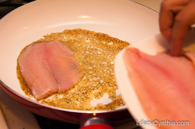 tilapia lemon pepper #SauteExpress #shop