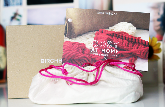 November 2014 Cosy At Home Birchbox