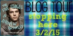 THE FIVE STAGES OF ANDREW BRAWLEY Blog Tour