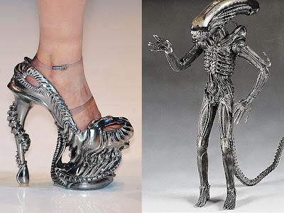 Metal shoes, Ugly Shoes, Scary Shoes