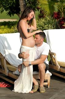 Megan Fox Pregnant Bikini Candids