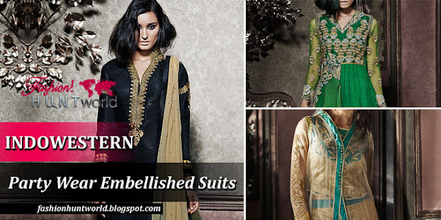 INDOWESTERN - New Party Wear Suits For Girls