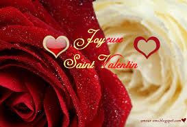 Sms d'amour joyeuse saint valentin