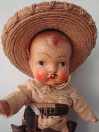 I thought I'd found a Cisco Kid doll a 50s TV series about a Mexican cowboy