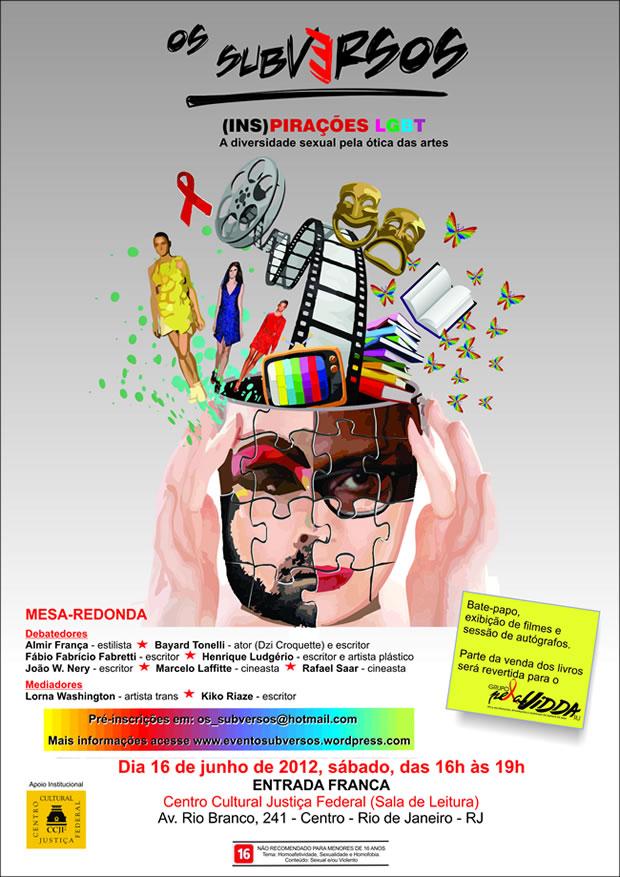 (Ins)pirações LGBT acontece no dia 16 de junho (Foto: Divulgação)