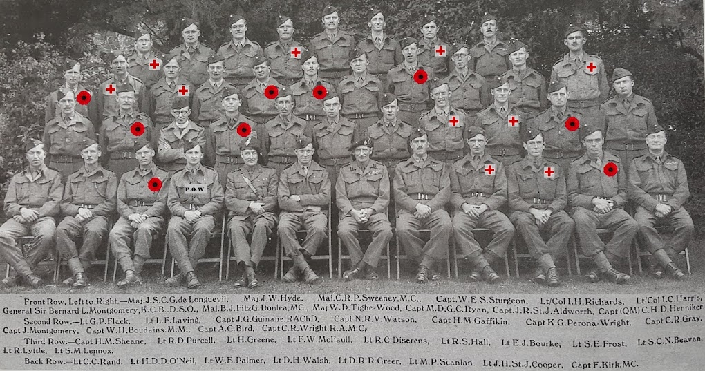 2nd Battalion Royal Ulster Rifles in WW2