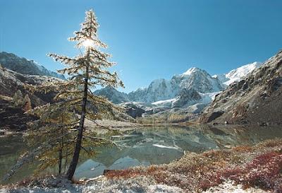 Orang asli Amerika berasal dari daerah pergunungan kecil di Russia
