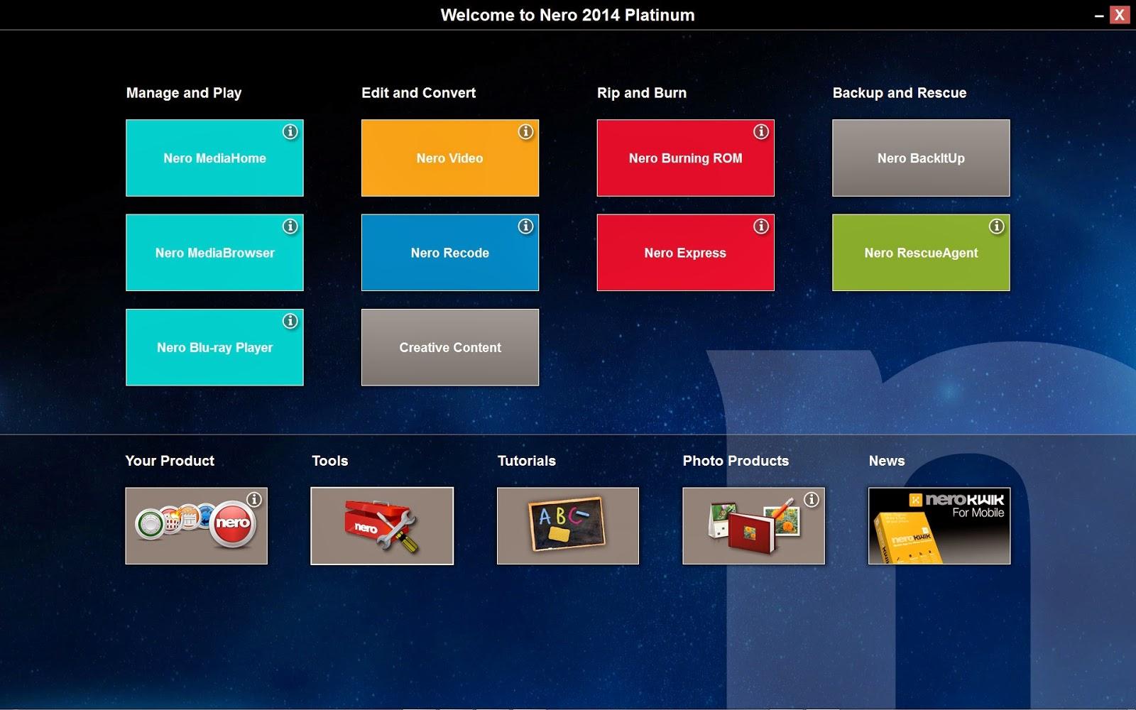 nero 2015 platinum serial key only