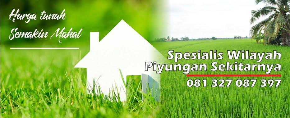 Jual Tanah Pekarangan Persawahan Di Wilayah Dekat Area Sekitar Kecamatan Piyungan Bantul Yogyakarta