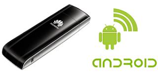 Cara Menghubungkan Modem ke Android