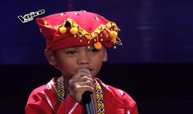 Reynan Del-anay sings 'Itanong Mo sa Mga Bata'