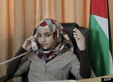 Foto Bashaer Othman, Cantik, Walikota Palestina Termuda Didunia