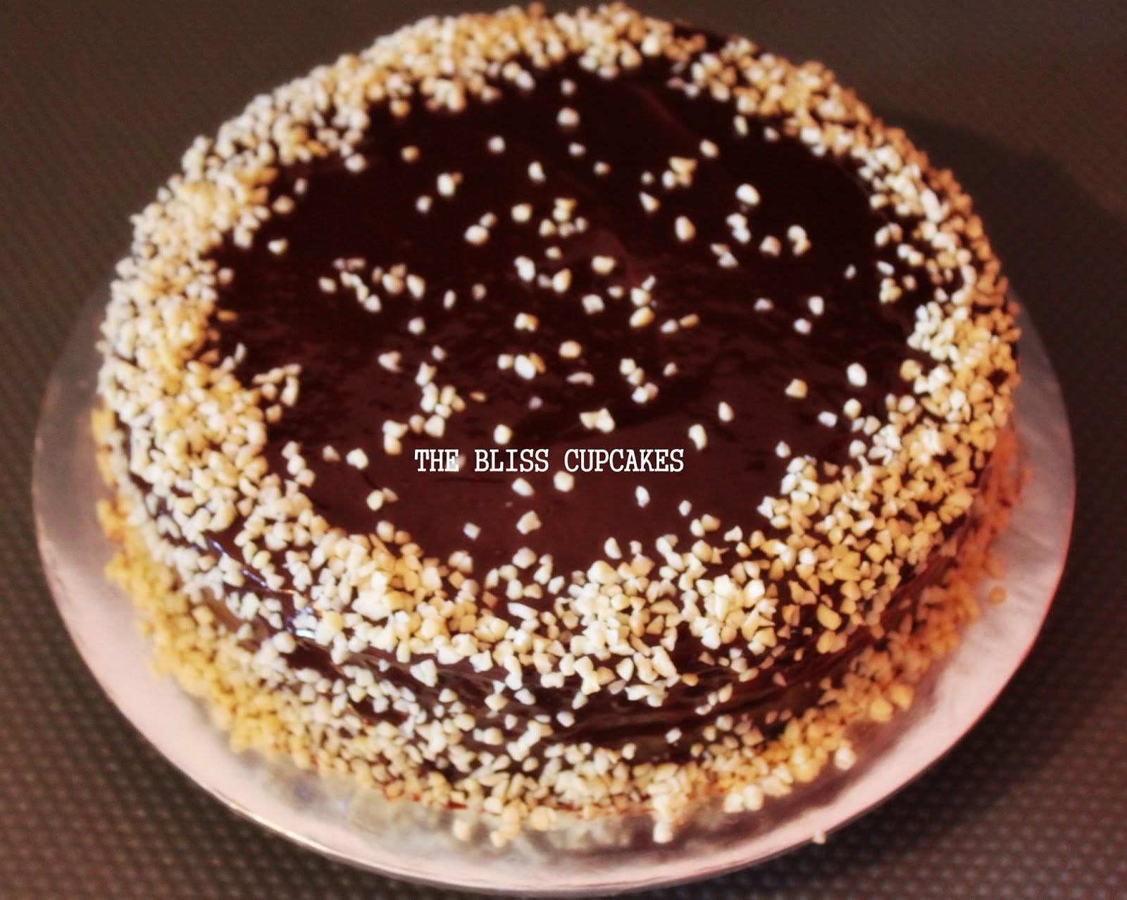 The Bliss Cupcakes Belgium Almond Birthday Cake