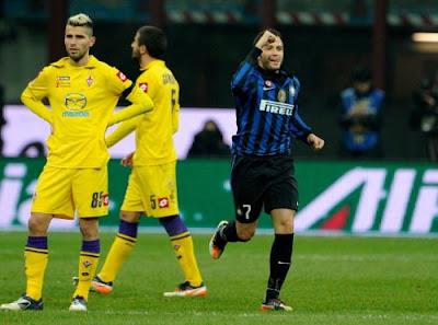 Inter Fiorentina 2-0 highlights sky