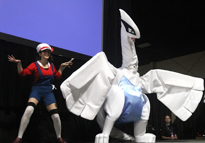 pokemon soul silver lugia lyra cosplay cosplayers geex 2011 gaming and electronics expo convention anime