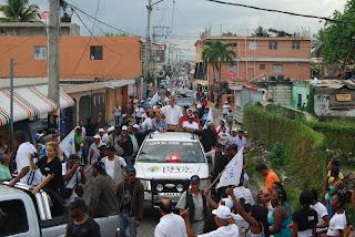 Luis Abinader  afirma en SDE que el pueblo no cree en las promesas del Presidente Fernández