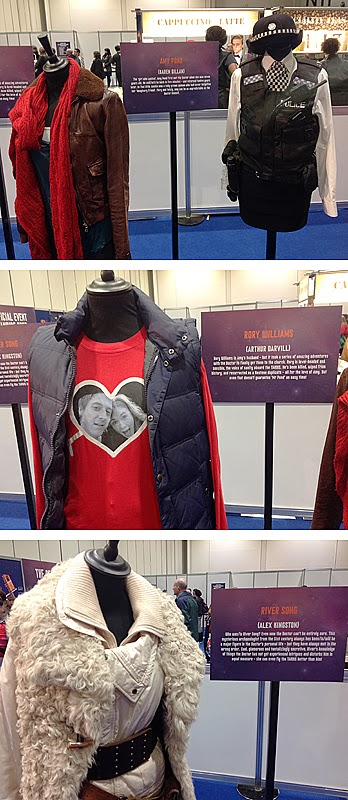 There were a handful of companion costumes on show including Amy Pondu0027s kiss-a-gram outfit from The Eleventh Hour; her costume from The Hungry earth; ...  sc 1 st  Making My 11th Doctor Costume & Making My 11th Doctor Costume: Doctor Who Celebration - costume ...