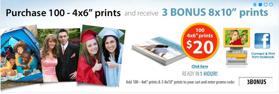 Walmart 4x6 print coupons