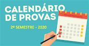 CRONOGRAMA DE PROVAS 2020/2