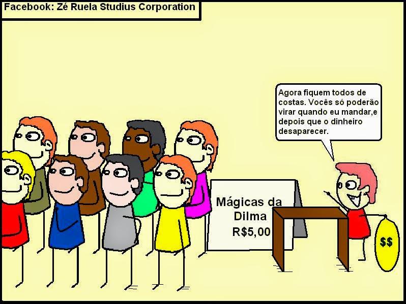 Mágicas da Dilma