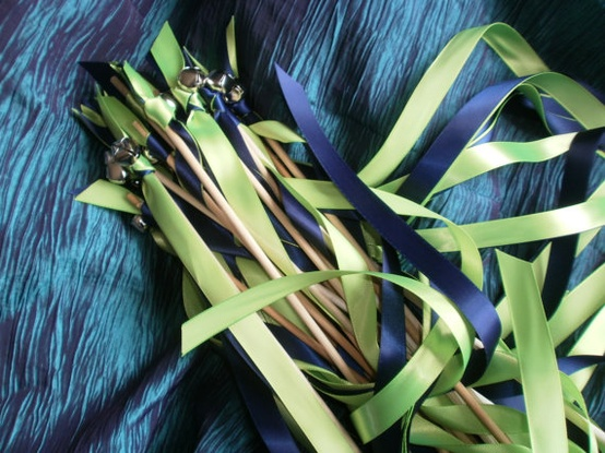 Wedding Ribbons Ribbon Wands