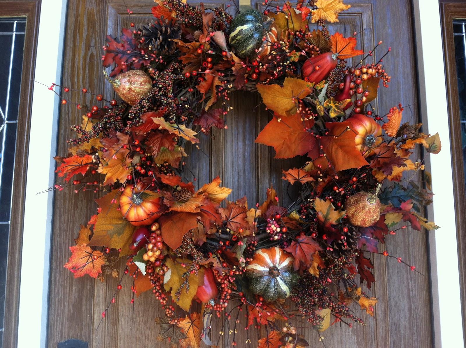Katherine Ave Diy Fall Wreath