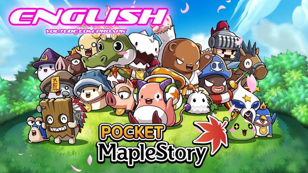 Pocket MapleStory English Gameplay IOS / Android