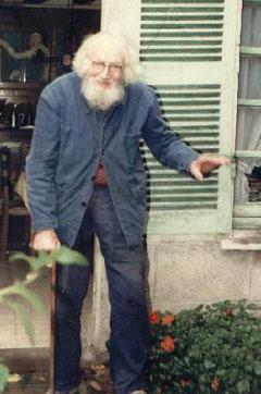 Bizeau sur ses vieux jours à Veretz