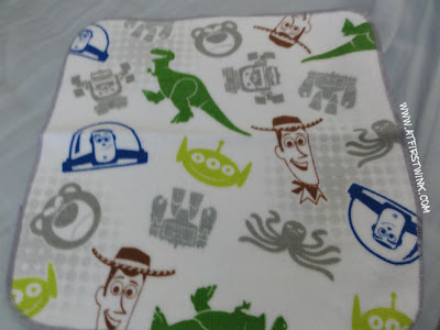 Toy story 3 mini towel