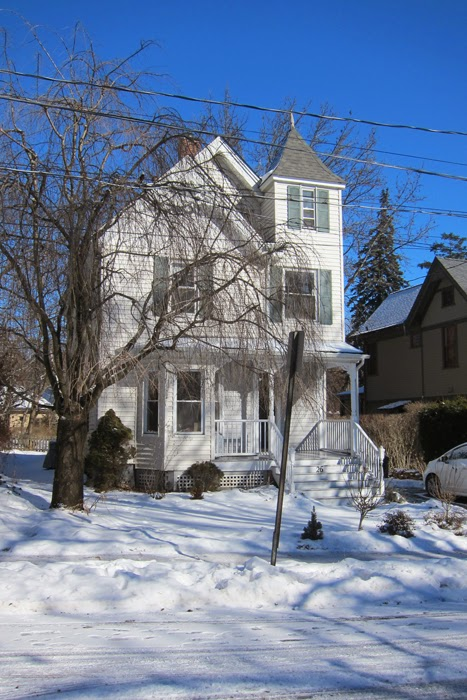 street view of front of Nyack house for sale